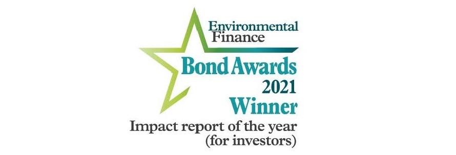 AIM wins at the Environmental Finance Bond Awards